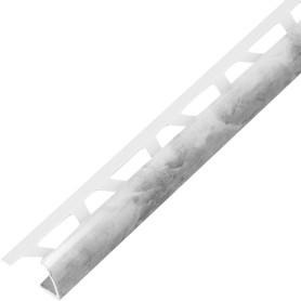 Профиль наружный 1х250 см текстура мрамор