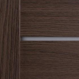 Дверь межкомнатная глухая Ницца 90x200 см, ПВХ, цвет дуб неаполь, с фурнитурой