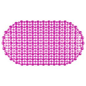 Коврик для ванны антискользящий Комфорт, 36х65 см, цвета в ассортименте