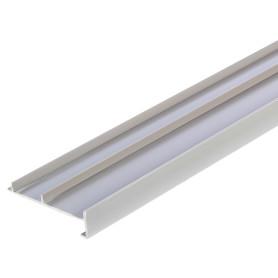 Плинтус напольный для ковролина/линолеума ПВХ 50 мм 2.5 м