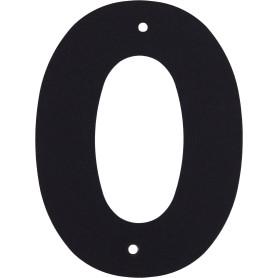 Цифра «0» Larvij большая цвет чёрный