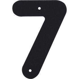 Цифра «7» Larvij большая цвет чёрный