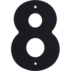 Цифра «8» Larvij большая цвет чёрный