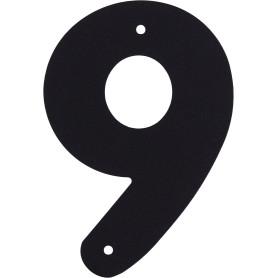 Цифра «9» Larvij большая цвет чёрный