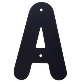 Буква «А» Larvij большая цвет чёрный