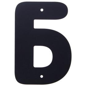 Буква «Б» Larvij большая цвет чёрный
