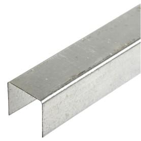 Профиль потолочный направляющий (ППН) Премиум 28х27x3000 мм, 0.6 мм