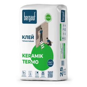Клей для облицовки печей KeramikTermo, 25 кг