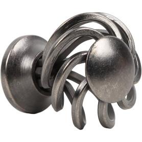 Ручка-кнопка Jet 188 сталь цвет серебро