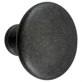 Ручка-кнопка Jet 161 ЦАМ цвет античное серебро