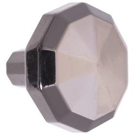 Ручка-кнопка Jet 32 мм цвет никель