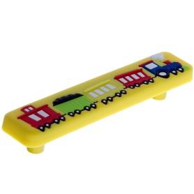 Ручка-скоба Jet 610 96 мм цвет желтый