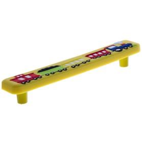 Ручка-скоба Jet 610 128 мм цвет желтый