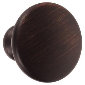 Ручка-кнопка Jet 161 ЦАМ цвет античная медь