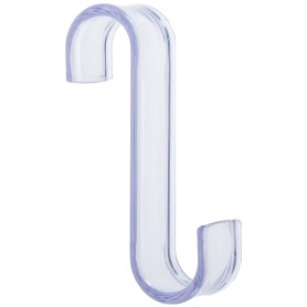 Вешалка-крючок для полотенцесушителя, пластик