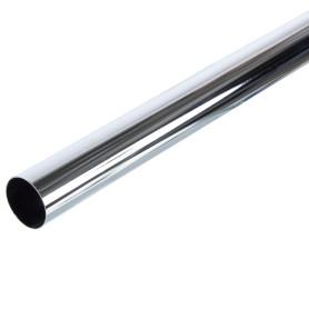 Труба d50х3000 мм цвет хром