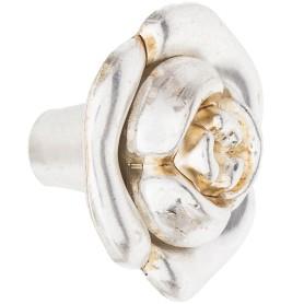 Ручка-кнопка Boyard RC087AS/SG.4 металл цвет матовое золото