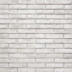 Плитка декоративная гипсовая Лофт Брик, цвет белый, 1.04 м2