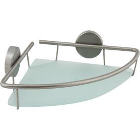 Полка для ванной комнаты «Terra» угловая