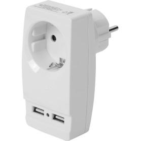 Разветвитель SP-1e USB цвет белый