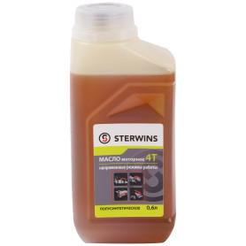 Масло моторное 4Т для напряжённых режимов Sterwins 10W40, полусинтетика, 0.6 л
