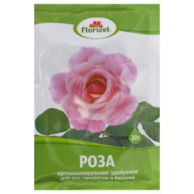 Удобрение Florizel для роз хризантем и бегоний ОМУ 0.03 кг