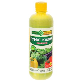 Гумат Калия «Долина плодородия» для овощей 0.5 л
