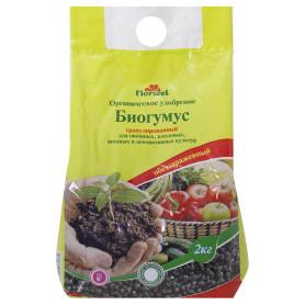 Удобрение Florizel Биогумус ОУ 2 кг