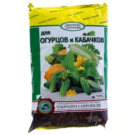 Удобрение биогрунт «Экофлора» для огурцов 10 л