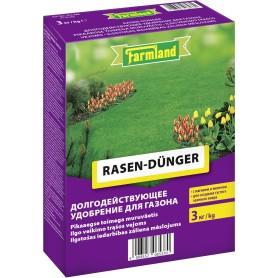 Удобрение для газона Farmland долгодействующее 3 кг