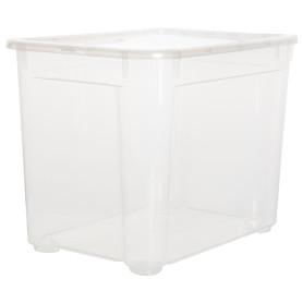 Ящик Кристалл 38.9x28.6x27.5 см, 22 л с крышкой