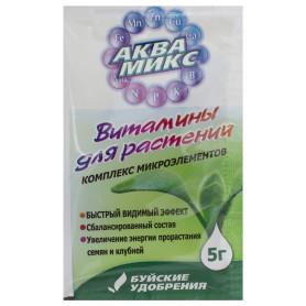 Удобрение Комплекс микроэлементов «Аквамикс» 0.005 кг