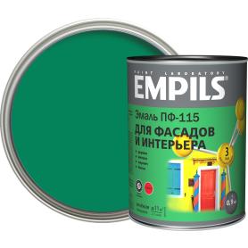 Эмаль ПФ-115 Empils PL цвет зелёный 0.9 кг