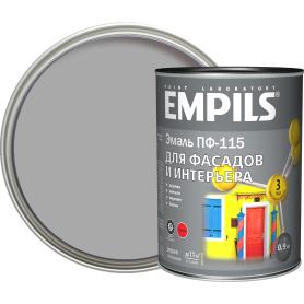 Эмаль ПФ-115 Empils PL цвет серый 0.9 кг