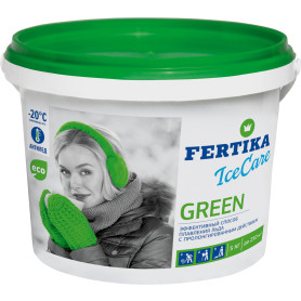 Противогололёдное средство Фертика Ice Care Green, 5 кг