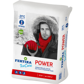 Противогололёдное средство Фертика Ice Care Power, 20 кг
