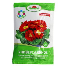 Удобрение Florizel ОМУ универсальная для комнатных растений 0.03 кг