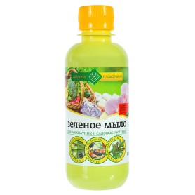 Зелёное мыло для комнатных и садовых растений Долина плодородия, с экстрактом пихты, 0.25 л