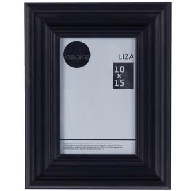 Рамка Inspire Liza 10x15 см цвет чёрный