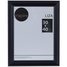 Рамка Inspire Liza 30х40 см цвет чёрный