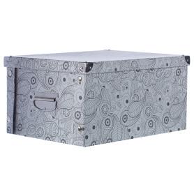 Коробка картон 40x30x20 см, узор
