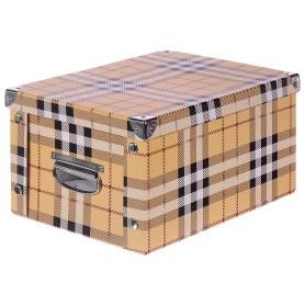 Коробка картон 30x20x15 см, клетка