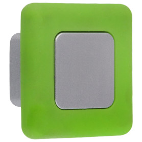 Ручка-кнопка B 050 000 цвет сатин/зеленый