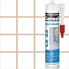 Затирка силиконовая Ceresit CS 25, цвет карамель