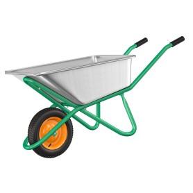 Тачка садовая одноколесная 200 кг/90 л