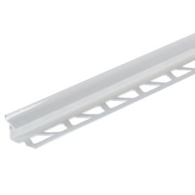 Профиль внутренний глянцевый 8 мм цвет белый