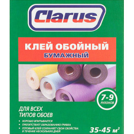 Клей для бумажных обоев Clarus 35-45 м²