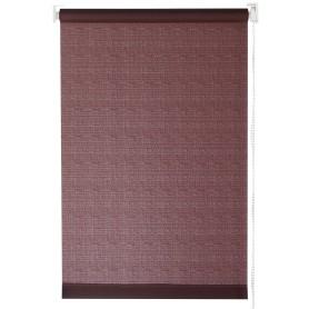 Штора рулонная Inspire 180х175 см цвет шоколадный