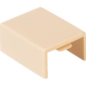 Соединение на стык 15/10 мм цвет сосна 4 шт.