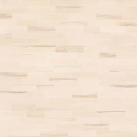 Паркетная доска трёхполосная «Бук белый ВК» лак 1.58 м²